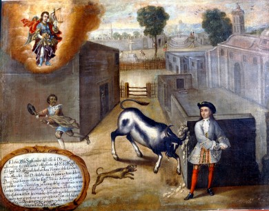 Novedades sobre la tauromaquia novohispana - Imagen