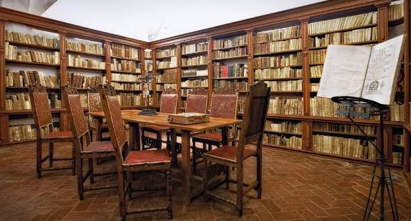 Biblioteca del noviciado